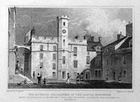 Interior Quadrangle of the Castle, Edinburgh