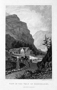 Vale of Beddgelert, Hery Gastineau