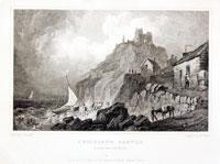 Criccieth Castle, Henry Gastineau