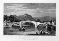 Llanrwst Bridge Denbighshire