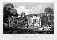 Llanrwst Church, Denbighshire