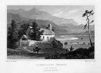 Llanelltyd Church near Dolgellau, Henry Gastineau