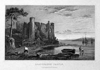 Llaugharne Castle