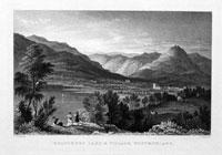 Grassmere Lake & Village, Westmorland