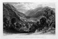 Rydal Hall from Fox How, Westmorland